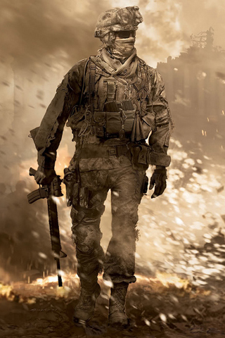 Modern Warfare 2 Soldier