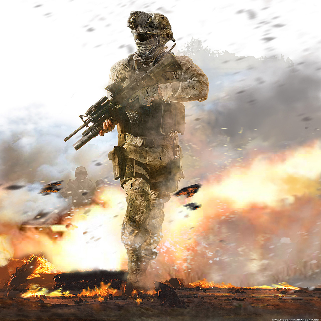 Modern Warfare 2 HD Wallpapers For IPad