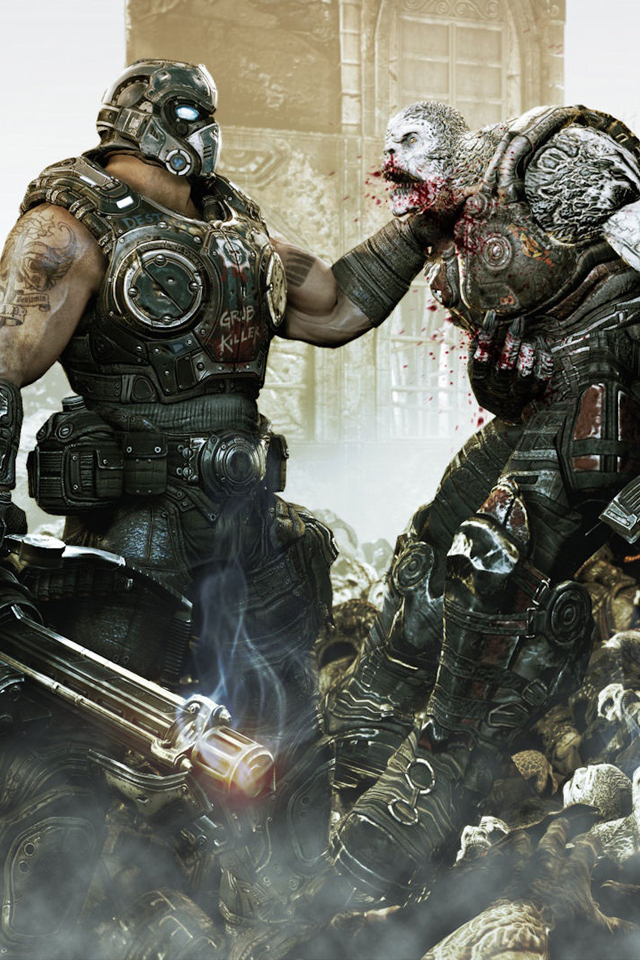 Gears Of War 3 HD Wallpapers For IPhone 4