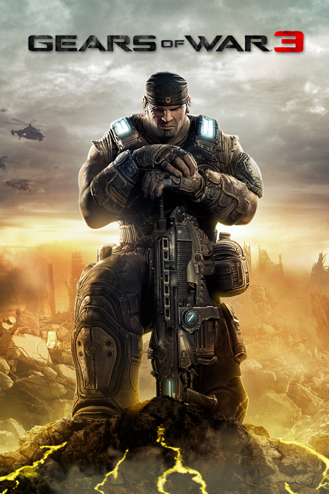 Gears of war 3 hd wallpapers for iphone 4 itito games blog - Wallpaper gears of war 4 ...