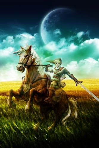 The Legend Of Zelda HD Wallpapers For IPhone 4