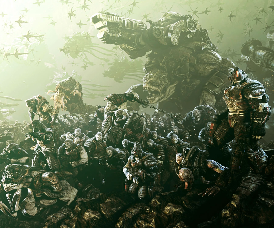 Gears Of War 3 Hd Wallpapers For Android